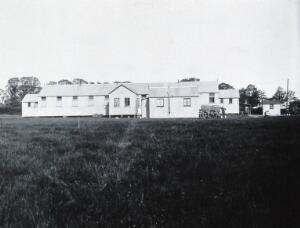 view Gloucester smallpox epidemic, 1896: a ward in the Hempsted isolation hospital. Photograph by H.C.F., 1896.