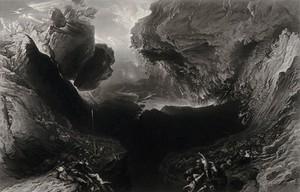 view The Apocalypse. Mezzotint by J. Stephenson after J. Martin.