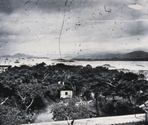 view The harbour, Hong Kong. Photograph, 1981, from a negative by John Thomson, 1868/1871.