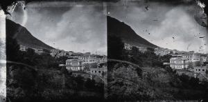 view Buildings, Hong Kong. Photograph, 1981, from a negative by John Thomson, 1868/1871.
