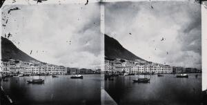 view The Bund, Hong Kong. Photograph, 1981, from a negative by John Thomson, 1868/1871.