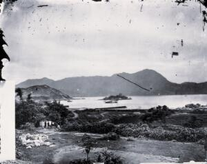 view Kowloon, Kwangtung province, China. Photograph, 1981, from a negative by John Thomson, 1870.