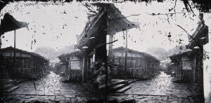 view Foochow, Fukien province, China. Photograph, 1981, from a negative by John Thomson, 1870/1871.