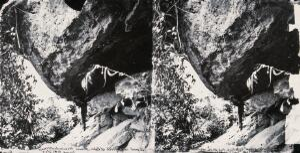 view Baksa, Formosa [Taiwan]. Photograph, 1981, after a negative by John Thomson, 1871.