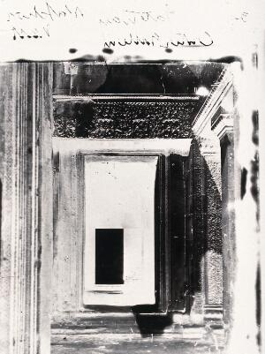 view Nakhon Thom [Angkor Wat], Cambodia. Photograph, 1981, from a negative by John Thomson, 1866.