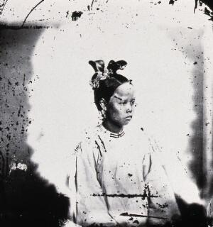 view Swatow, Kwangtung province, China. Photograph, 1981, from a negative by John Thomson, 1871.
