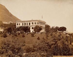 view Hong Kong: the Government House and grounds. Photograph by W.P. Floyd, ca. 1873.