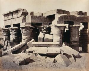 view The Temple of Komumboo, Egypt. Photograph by Francis Frith, ca. 1858.