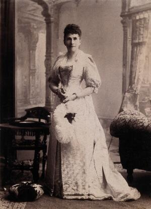 view Kimberley, South Africa: Mrs James Currey, the wife of the Manager of the London and South African Exploration Company. 1896.