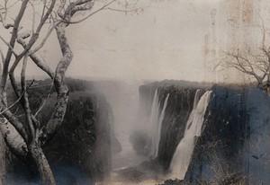 view Zimbabwe: Victoria Falls. Photograph by Prof. W.B. Scott, 1905.