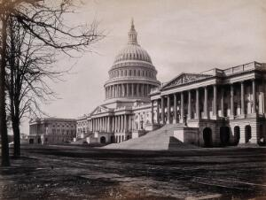 view The Capitol building, Washington D.C. Photograph by Francis Frith, ca. 1880.