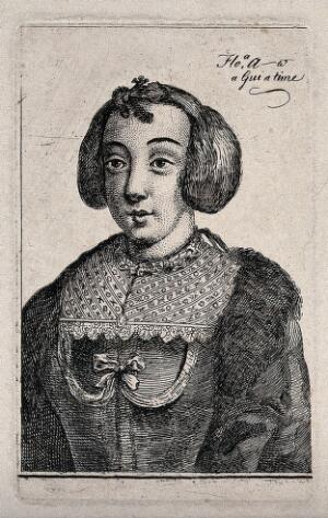 view A prostitute with her name and charges. Etchings by Wenzel Hollar.