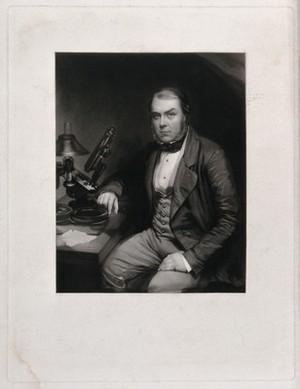 view John Thomas Quekett. Mezzotint by W. Walker, c. 1850, after E. Walker.