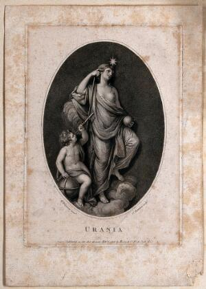 view Urania. Stipple engraving by P. Bettelini after G.B. Cipriani.