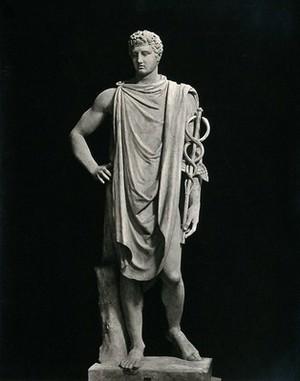 view Mercury (Hermes): the Roman god. Photograph by Alinari.