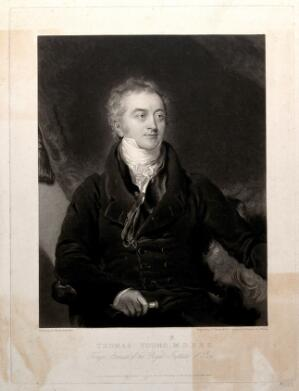view Thomas Young. Mezzotint by C. Turner after Sir T. Lawrence, 1826.