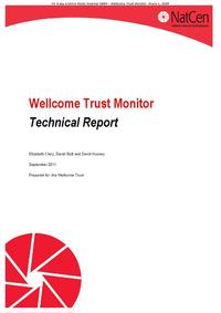 view Wellcome Trust Monitor Technical Report / Elizabeth Clery, Sarah Butt and David Hussey.