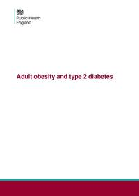 view Adult obesity and type 2 diabetes / Public Health England.