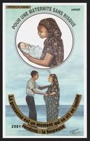 view Promoting maternal health in Djibouti. Colour lithograph by A. Rachid and A. Djama for Ministère de la Santé and Unicef, 2001.