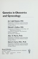 view Genetics in obstetrics and gynecology / Joe Leigh Simpson [and others].