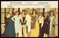 view Men in drag at Club My-O-My, New Orleans. Colour process print, 195-.