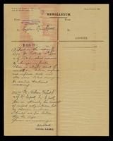 view Memorandum Army form C.348.