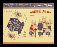 view Progressive whist : score card : lady / Kilverts.