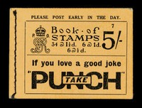 """view Book of stamps... : If you love a good joke take """"Punch""""."""