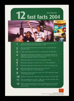 view 12 fast facts 2004 about McDonald's / McDonald's Corporation.