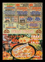 view Super pizza : free delivery : try our new Super Tex Mex pizzas : halal pizza available / Super Pizza Company.