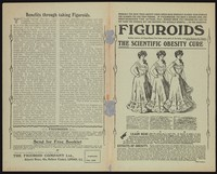 view Figuroids : the scientific obesity cure : safely remove all superfluous fat from every part of the body, and quite restore the figure / The Figuroid Company Ltd.