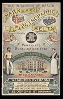 view All in search of health should wear Harness' electropathic belts : scientifically constructed for new life and vigor / C.B. Harness.
