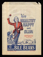 view Keep healthy, happy and slim by talking Bile Beans brand pills.