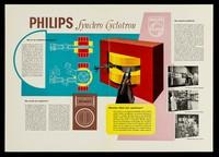 view Philips synchro cyclotron / Philips Gloilampenfabrieken.