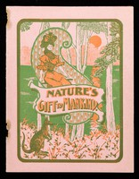 view Nature's gift to mankind / The Bile Bean Manufacturing Co.