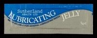 view Lubricating jelly : water soluble for general lubricating needs  : 5g / Sutherland Health Ltd.