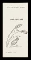 view High fibre diet / Merton & Sutton Health Authority.