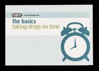 view Taking drugs on time / NAM.