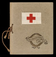 view The emblem of mercy and help : a Christmas greeting to one who wears the red cross.