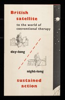 view British satellite to the world of conventional therapy : day-long, night-long sustained action / Clinical Products Ltd.