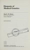 view Elements of medical genetics / Alan E.H. Emery.