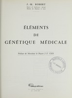 view Eléments de génétique médicale / J.-M. Robert.