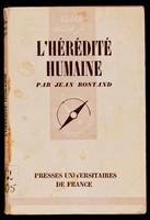 view L'Hérédité humaine / par Jean Rostand.