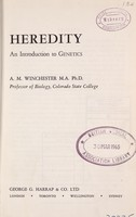view Heredity : an introduction to genetics / A.M. Winchester.
