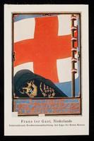 view Frans ter Gast, Niederlande : Internationale Konkursausschreibung der Liga der Roten Kreuze.