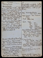 view Longmore's outlines of notes for anatomical and physiological lectures to nurses (1860's); report on Litters, 1867; and press cuttings re military hospitals, 1865