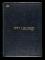 view Newspaper cuttings scrapbook re the Army Medical Services/Royal Army Medical Corps, 1895-1907 compiled by Lieutenant Colonel William Johnston. Volume 2