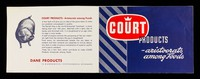 view Court products : aristocrats among foods / Dane Products.