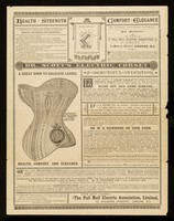 view Dr. Scott's electric corset : health, strength, comfort, elegance : a great boon to delicate ladies : a beautiful invention ... / the Pall Mall Electric Association.