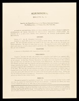 view Bulletin. No. 31, Albuminuria / Clinical Department of The Vibrator Instrument Company.